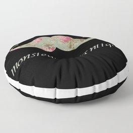 monsieur romantique Floor Pillow