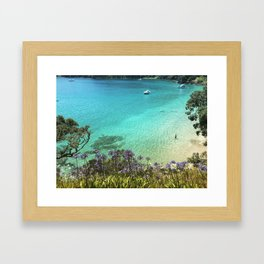 From Where You'd Rather Be Framed Art Print