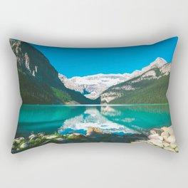Lake Louise, Alberta Rectangular Pillow