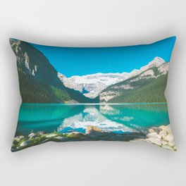 Lake Louise, Alberta Rectangular Pillow