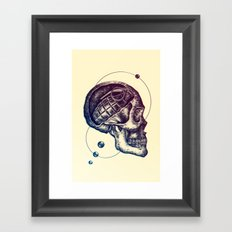 Death Mind Framed Art Print