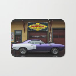 Plum Crazy 1971 Barracuda 426 Bath Mat