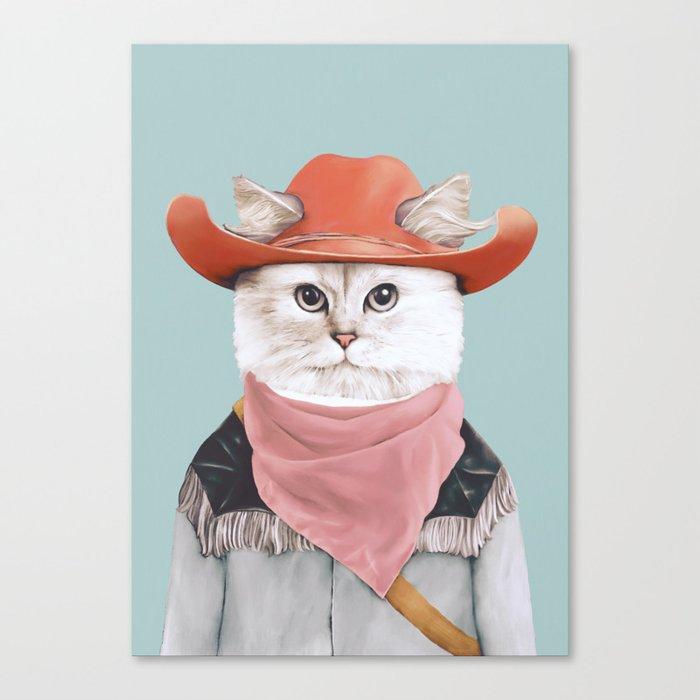 Rodeo Cat Leinwanddruck