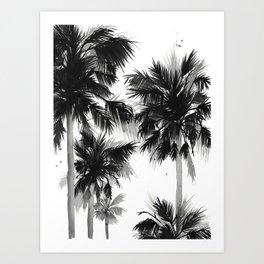 Paradis Noir IV Art Print