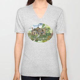 The House on Spring Lane Unisex V-Neck