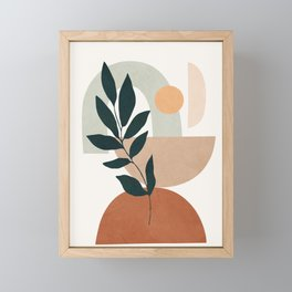 Soft Shapes IV Framed Mini Art Print