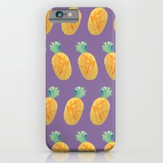 Pineapple Watercolor iPhone 6s Slim Case