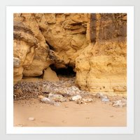 Marsden Cave Art Print