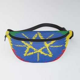 Flag of Ethiopia - Extruded Fanny Pack