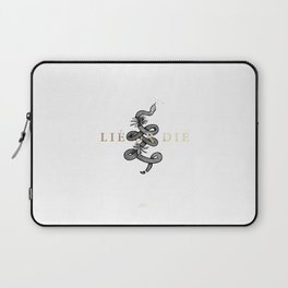 Lie or Die Laptop Sleeve