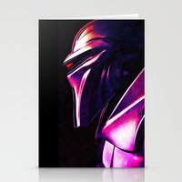 "battlestar Stationery Cards featuring ""Some Kinda' Crazy, Frakked Up Cylon Signal..."" by Cullen Rawlins"