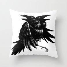 Ravens Throw Pillow
