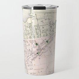 Vintage Map of Astoria NY (1873) Travel Mug