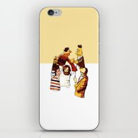 muppets iPhone & iPod Skins featuring Bert & Ernie Muppets by joshuahillustration