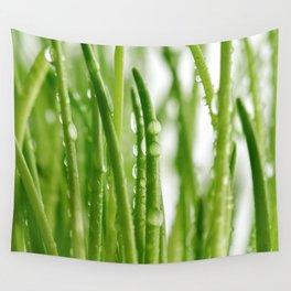 Green gras 03 Wall Tapestry