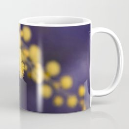 mimosa flower at night Coffee Mug
