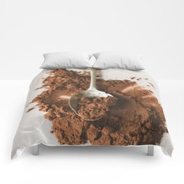 All of the chocolate Comforters