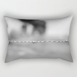 Barb wire - take 2... Rectangular Pillow