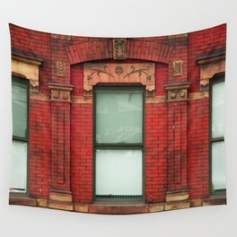 High Line Window Trio Wall Tapestry