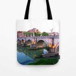 Ponte Sant'Angelo Tote Bag