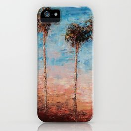 California Palms iPhone Case