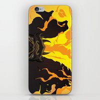 dungeons and dragons iPhone & iPod Skins featuring DUNGEONS & DRAGONS - INTRO by Zorio