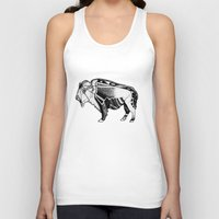 bison Tank Tops featuring Bison by Jade Antoine