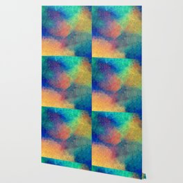 Reflecting Multi Colorful Abstract Prisms Design Wallpaper