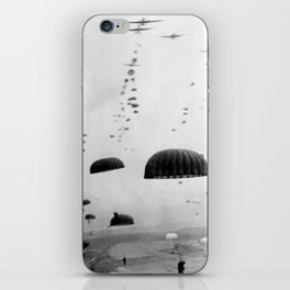 Airborne Mission During WW2 iPhone Skin