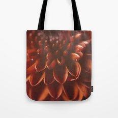 Red Burst Tote Bag