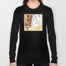 vintage peach Long Sleeve T-shirt