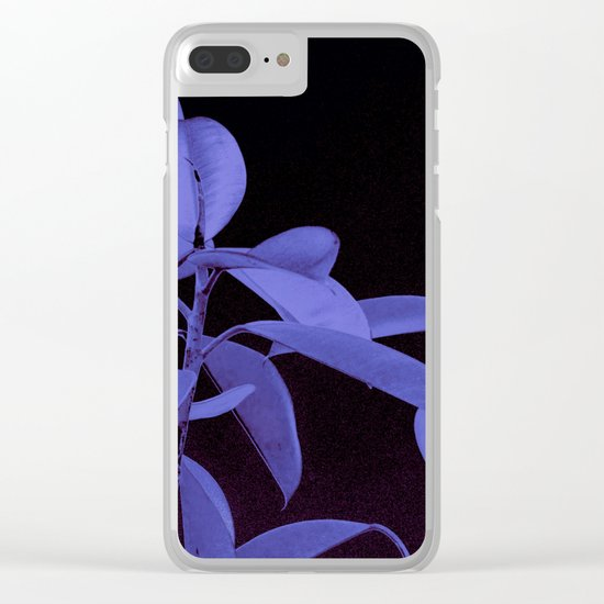 Rubber plant II Clear iPhone Case