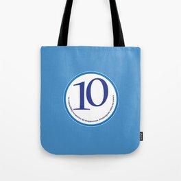 Baked (blue-meters) Tote Bag