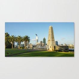Anzac War Memorial, Kings Park, Perth Canvas Print
