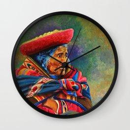 Las marcas del Cuzco Wall Clock