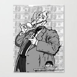 War (a) - noisrevbuS (1) Canvas Print