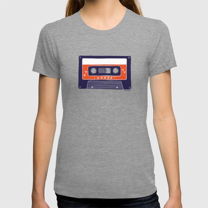 DARVEE - Retro tape T-shirt