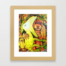 The Puppy Lair Framed Art Print