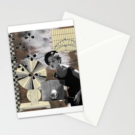 Snow in the African Desert Stationery Cards