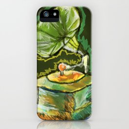 Old Gramophone iPhone Case
