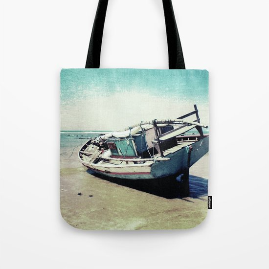 Waiting for the tide to change Tote Bag