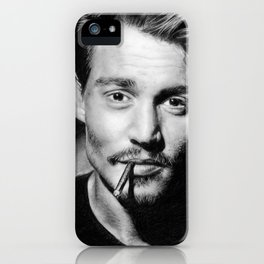 Dear Mr. Depp iPhone Case