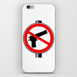 No Guns Alowed iPhone Skin