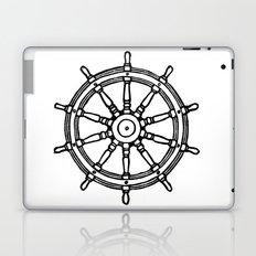 Ship's Helm - Captain's Wheel - Rudder Laptop & iPad Skin