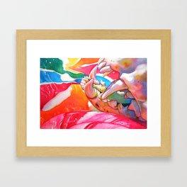 lollipop macabre Framed Art Print