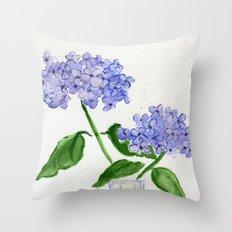 Singin' The Blues Throw Pillow