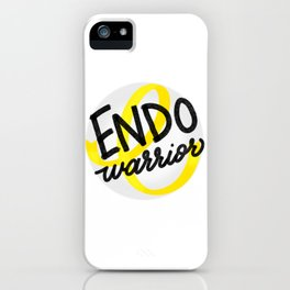 ENDO Warrior - Endometriosis Awareness Art - Advocate iPhone Case