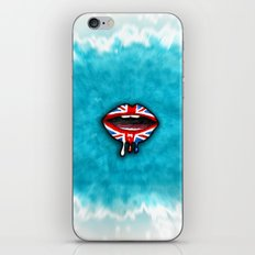 Dripping with British Pride. iPhone & iPod Skin