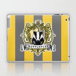 Hufflepuff Color Laptop & iPad Skin