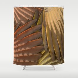 Northern Flicker Wings Shower Curtain